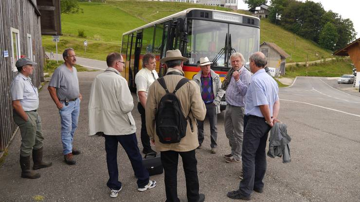 Experten unter sich - Erfahrungsaustausch: Baden-Württemberg zu Besuch am Weissenstein
