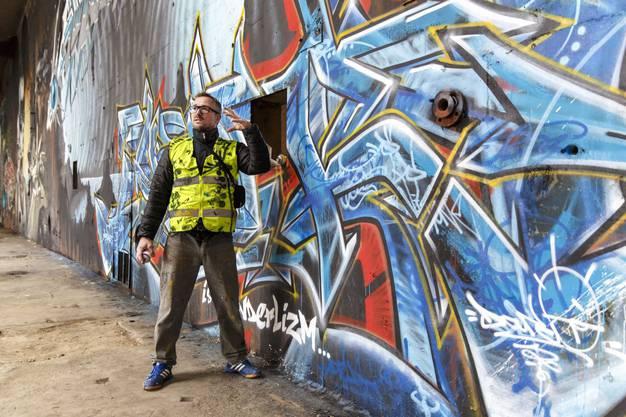 Der deutsch-französische Künstler «Darco» erklärt seine Vision von Sprayen.