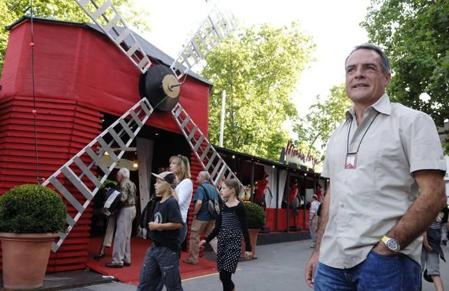 2007 war Marc Périllard OK-Präsident der Badenfahrt unter dem Motto «Welt statt Baden».