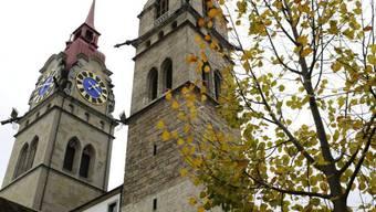Die Idylle trügt: Stadtkirche von Winterthur