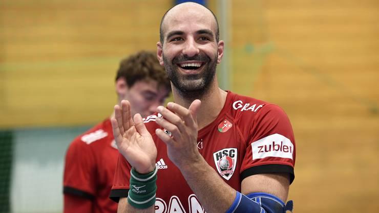 HSC-Linkshänder João Ferraz überraschte mit Portugal an der EM.