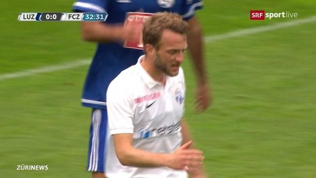 FCZ verliert gegen Luzern