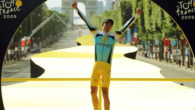 Tour-de-France-Gewinner Alberto Contador