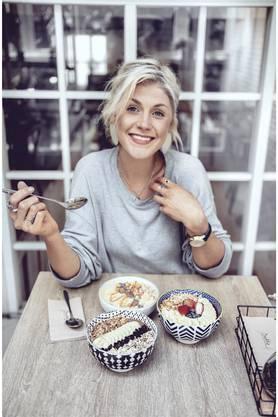 Nadia Damaso liebt es, gesund zu essen.