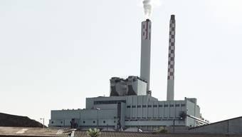Auf der Baustelle der Basler Kehrichtverbrennungsanlage soll es zu Lohndumpingfällen gekommen sein.