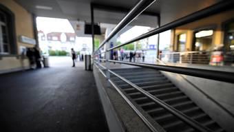 Hier am Bahnhof Solothurn kam es zum Angriff.