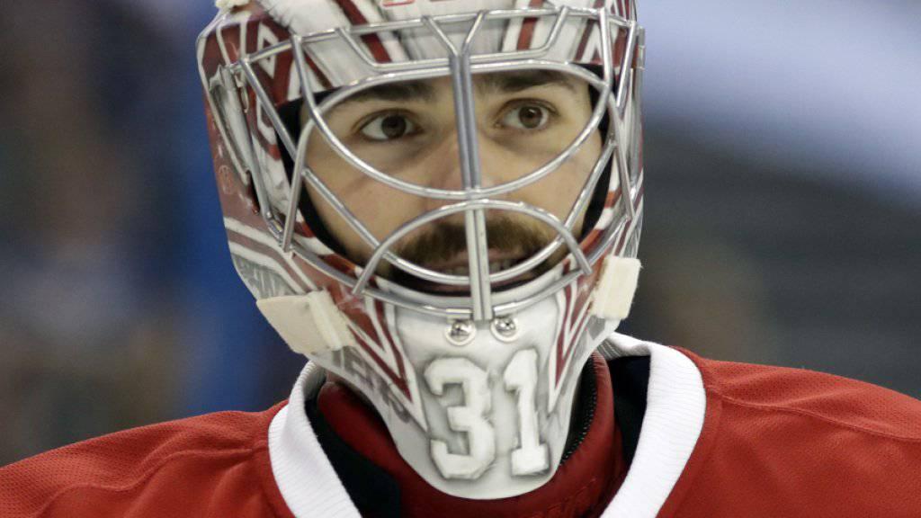Unterschrieb bei Montreal einen neuen Millionenvertrag: Goalie Carey Price