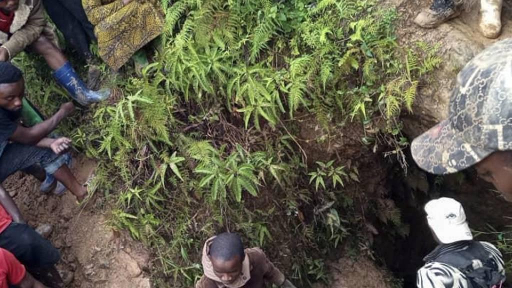 Trauer und Wut - Mindestens 50 Tote bei Minenunglück im Kongo