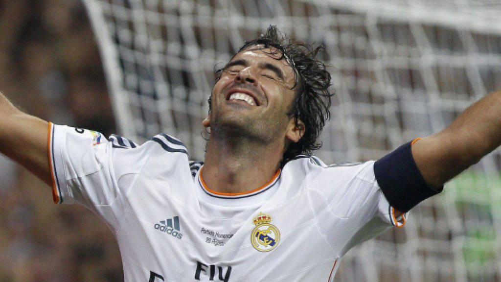 Raul traf 323 Mal für Real Madrid