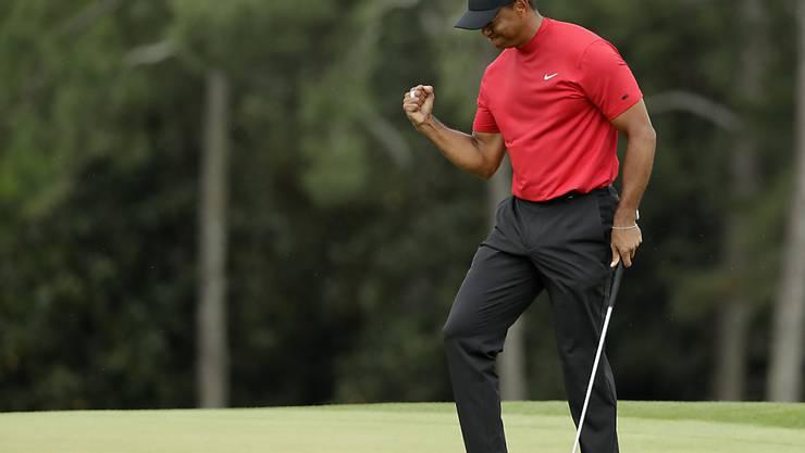 Tiger Woods ist derzeit an allen Fronten auf dem Vormarsch
