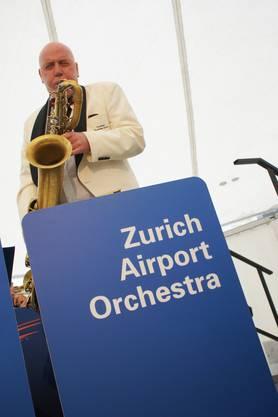 Das Saxophonsolo von Thomas Alder vom Zurich Airport Orchestra