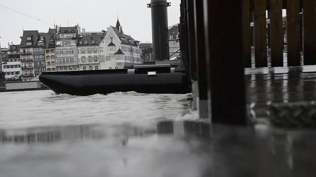 Hochwasser Basel