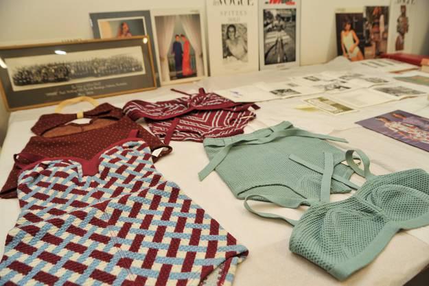 Der Verein Textilpiazza inventarisiert den Hanro Fundus. Im Archiv werden die Stücke schon einmal präsentiert.