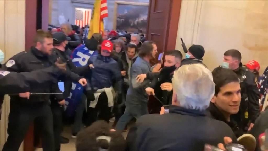 Chaos in Washington: So kam es zum Sturm auf das Kapitol