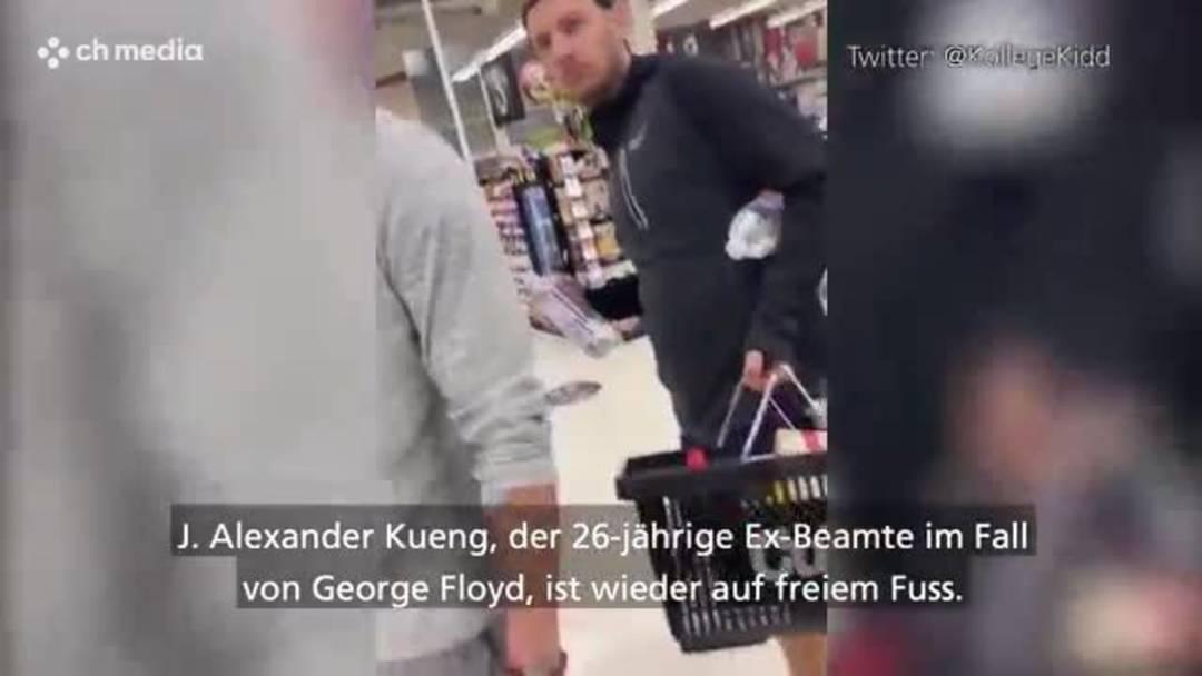 Fall George Floyd: Zweiter Ex-Polizist gegen Kaution frei