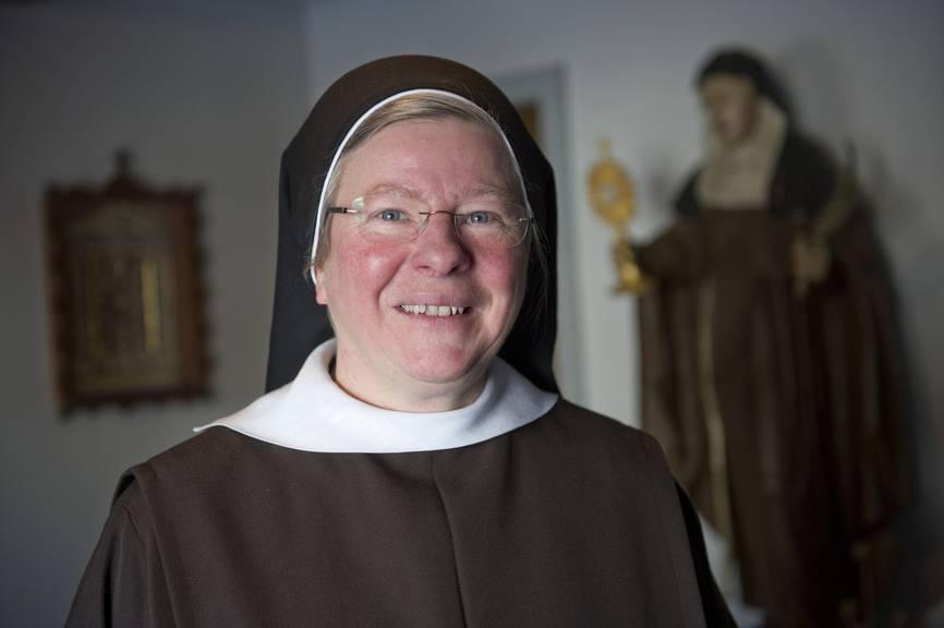 Schwester Mirjam lebt seit 1986 im geschlossenen Kloster Leiden Christi in Jakobsbad (Bild: St.Galler Tagblatt/Ralph Ribi)