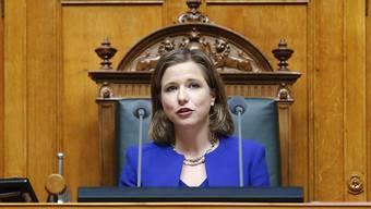 Christa Markwalder ist jetzt Nationalratspräsidentin. (Archivbild)