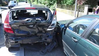 An beiden Fahrzeugen entstand ein erheblicher Sachschaden.