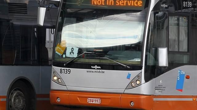 Nach dem gewaltsamen Tod eines Mitarbeiters der Verkehrsbetriebe war der Nahverkehr in Brüssel tagelang gestört (Archiv)