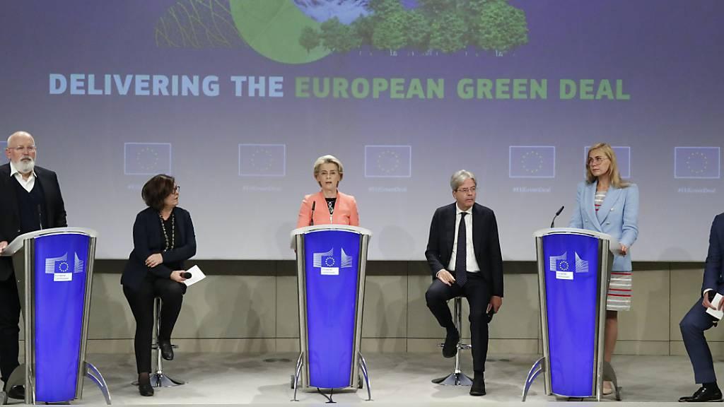 EU-Kommission: Bis 2035 sollen alle Neuwagen emissionsfrei sein