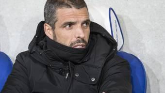 Lausannes Trainer Fabio Celestini wartet noch auf den ersten Punkt in diesem Jahr