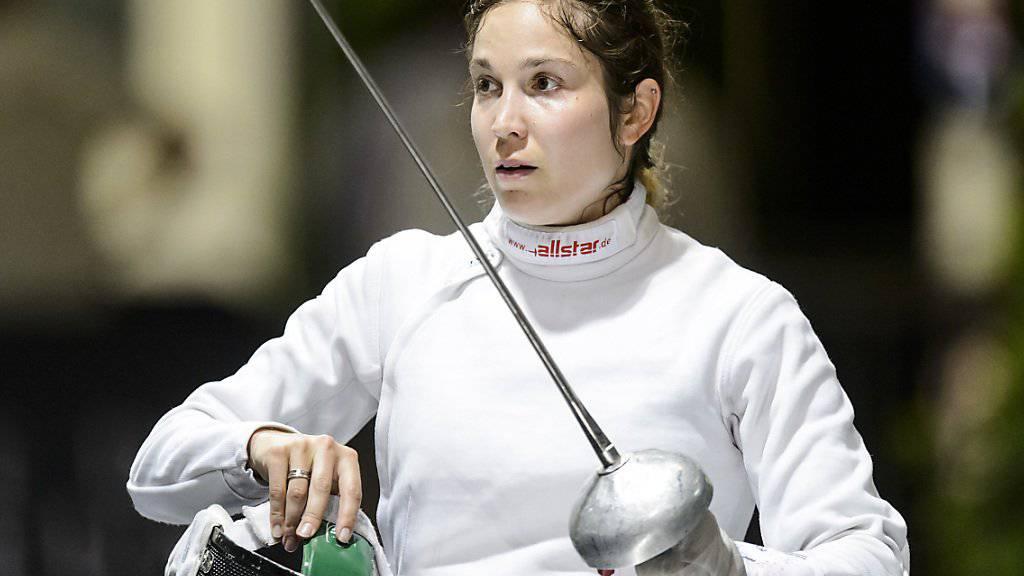 Tiffany Géroudet scheiterte an den EM in Torun als beste Schweizerin in den Sechzehntelfinals