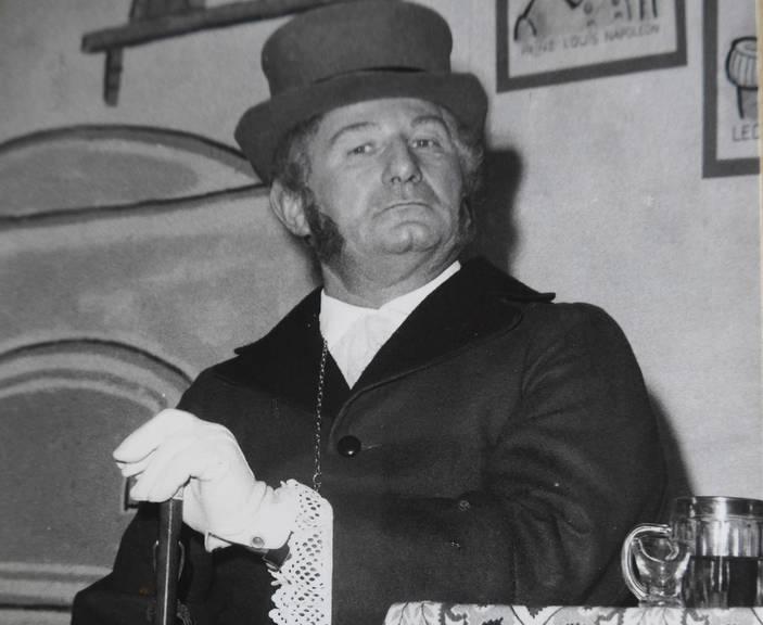 Willi Hermann, der Erfinder des Groppenlieds (Bild: St.Galler Tagblatt)