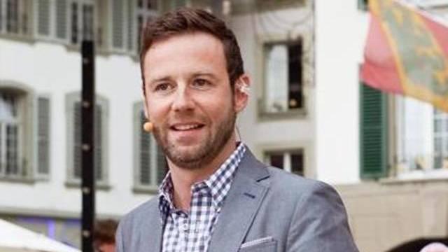 Fernsehmoderator Nick Hartmann (Bild: SF)