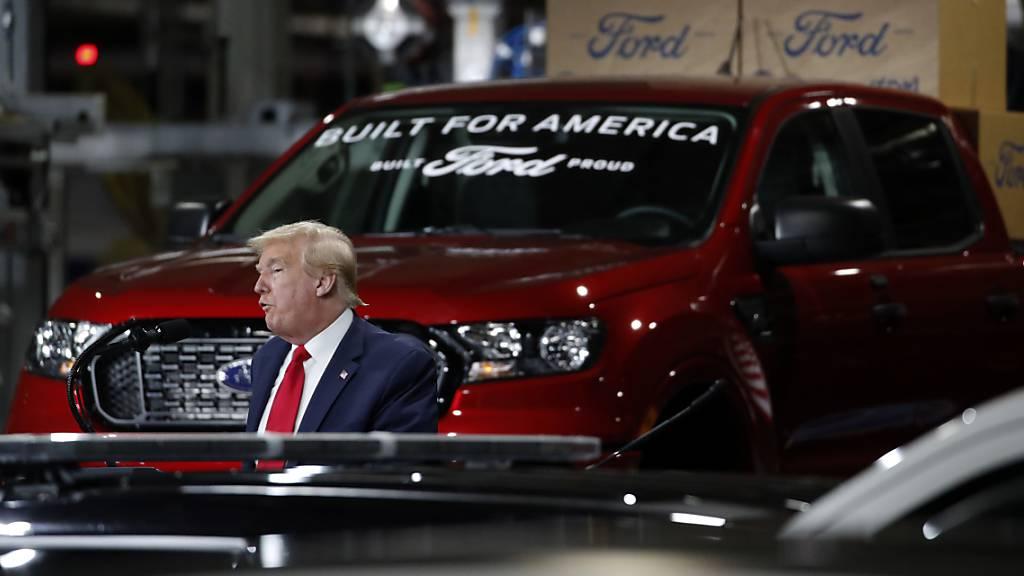 Ford ruft über zwei Millionen Autos in Amerika zurück