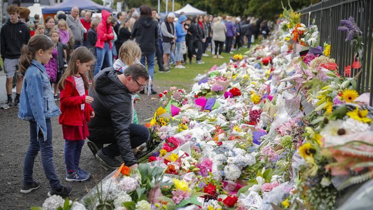 Die Trauer und das Entsetzen über die Tat sind gross in Neuseeland.