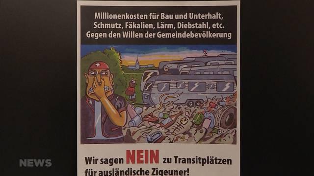 Strafanzeige wegen «Zigeuner»-Plakat