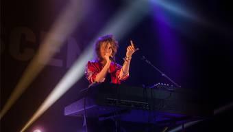 Sie ist eine von 286 Basler Popmusikerinnen – und eine der bekanntesten: Anna Aaron, hier bei ihrem Auftritt am BScene-Festival 2018.
