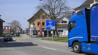 Obersiggenthal will verhindern, dass im Dorf ein Schwerverkehrskorridor entsteht.