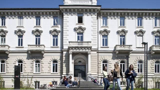 "Hauptgebäude der ""Universita della Svizzera italiana"" (USI)"