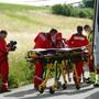 Rega und Filmteam in Langendorf im Einsatz