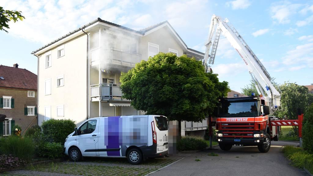 Brand: Bewohner von sechs Wohnungen verlieren ihr Zuhause