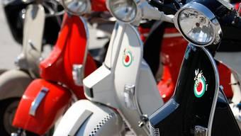 Motorroller verkauften sich vergangenes Jahr weniger gut (Archiv).