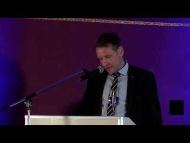 """Björn Höcke nennt Holocaust Denkmal """"Schande"""""""