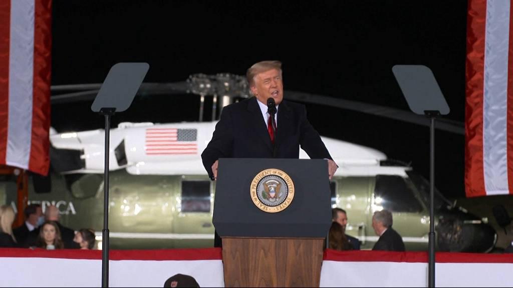 US-Senatswahlen: Trump will «wie der Teufel» um Präsidentschaft kämpfen