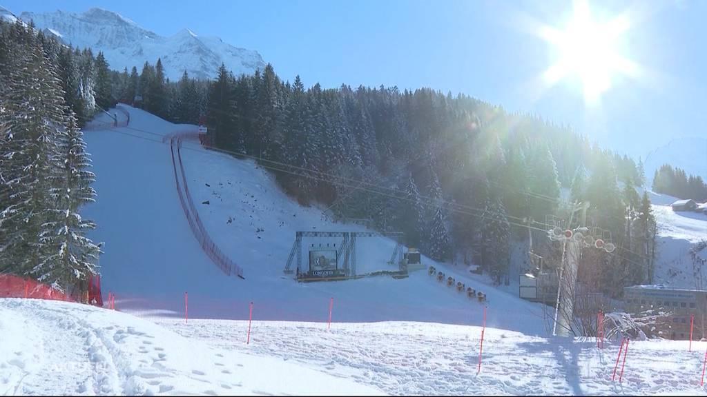 Lauberhorn-Rennen jetzt doch abgesagt