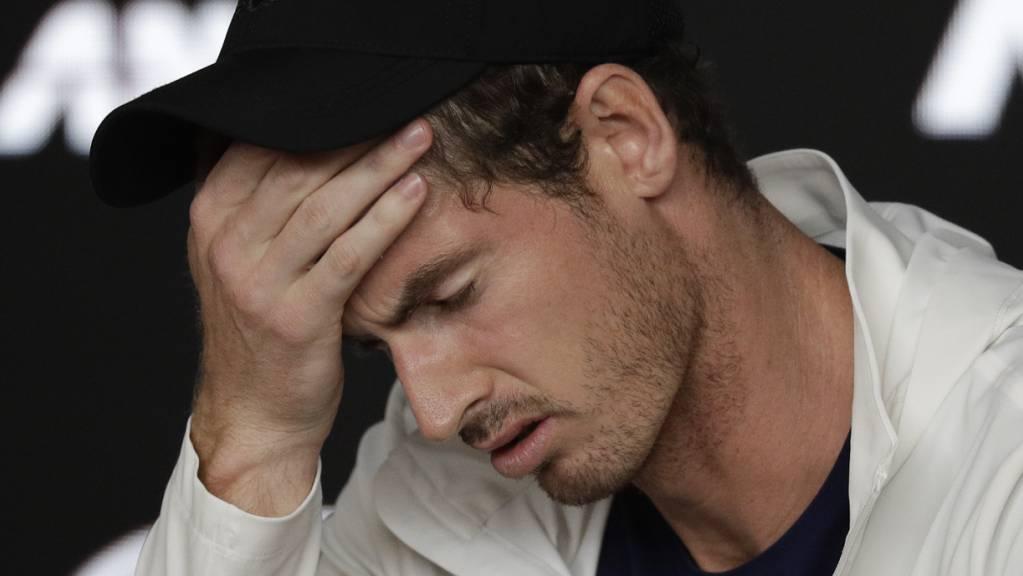 Andy Murray befindet sich in Quarantäne.