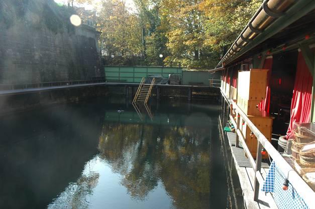 Zürcher Bäderkultur: Das Männerbad Schanzengraben ist das älteste Bad der Stadt.
