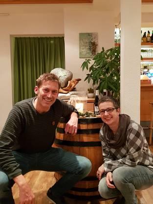 neue Ehrenmitglieder Philipp Ruckli und Regula Hoffmann