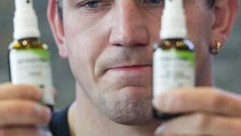 Bruno Gisler: Die falsche Flasche erwischt. key