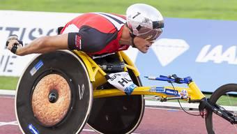 Marcel Hug sorgte an den Paralympics in Rio de Janeiro für die erste von zwei Schweizer Medaillen.