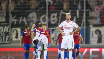 Kein Auftakt nach Mass für Valon Behrami und den FC Sion: Basel gewinnt im Wallis 4:1