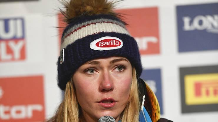 Mikaela Shiffrin verzichtet auf die Speedrennen vom Wochenende in St. Moritz