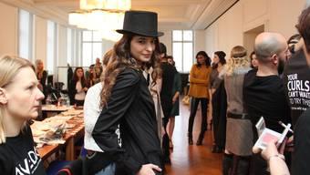 Ein Blick hinter die Kulissen: «Mit diesem Hut fühlte ich mich wie Marlene Dietrich.»