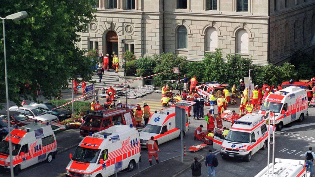 Heute gedenkt Zug der Opfer des Attentats