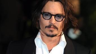 """Johnny Depp dreht """"Fluch der Karibik 4"""" (Archiv)"""